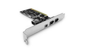 Dynamode 3 Port Firewire Card - PCI