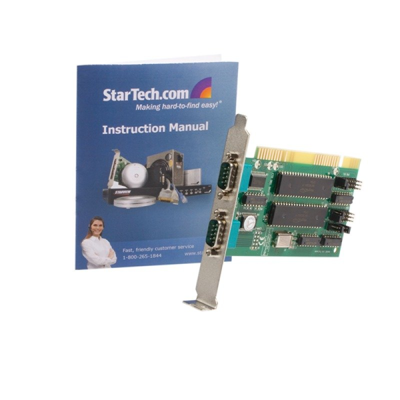 StarTech 2 Port 16550 Isa Serial Card - Uk