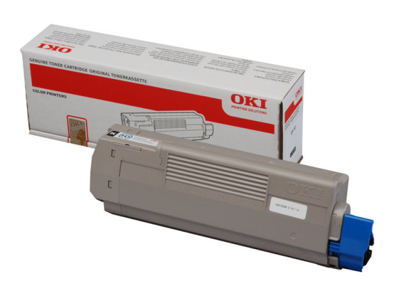 *OKI Black toner 8k Yield - C610