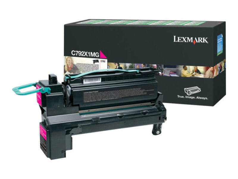 Lexmark Extra High Yield Magenta Toner Cartridge - C792X1MG