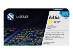 HP 646A Yellow Laserjet Toner Cartridge 12,500 Pages - CF032A