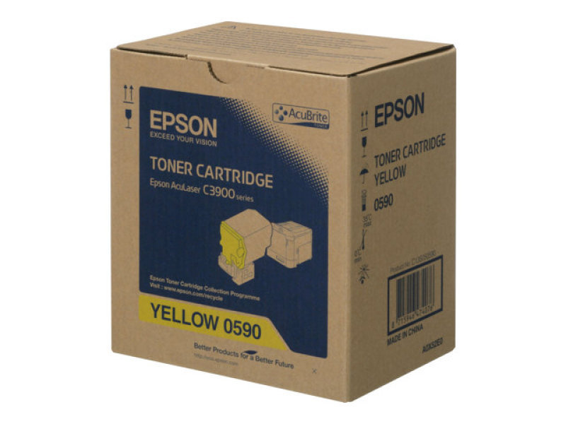 TONER CARTRIDGE YELLOW S050590 - 6.000 PAGES