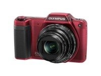 Olympus Stylus SZ-15 Digital Compact Camera - Red