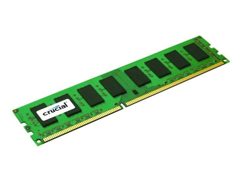 Crucial CT102472BD160B  8GB DDR3L 1600MT/s (PC3-12800) DR x8 ECC UDIMM 240p