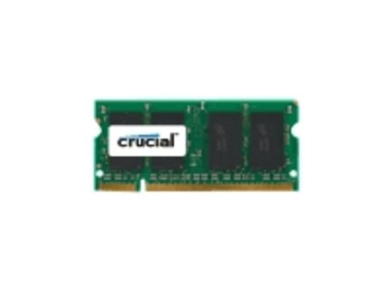Image of Crucial 4GB DDR2 667MHz Laptop Memory SO-DIMM CL5 1.8V Unbuffered Non-ECC