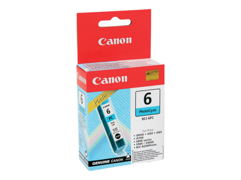 Canon BCI 6PC Photo Cyan Ink Cartridge 280 Pages