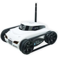 Happy Cow 777287 iSpy Tank Wi-Fi Controlled 4CH iPhone/iPad Controlled