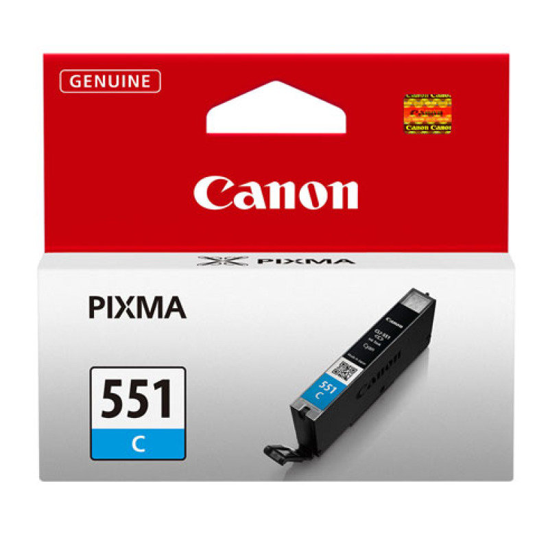 Canon CLI-551C Cyan Ink Cartridge