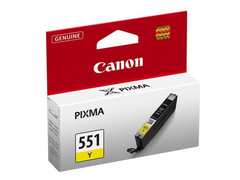 Canon Cli-551 Yellow Ink Cartridge
