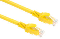 Xenta Cat6 Snagless UTP Patch Cable (Yellow) 1m