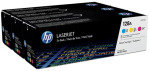 HP 128A Tri-Pack Toner Cartridge - CF371AM