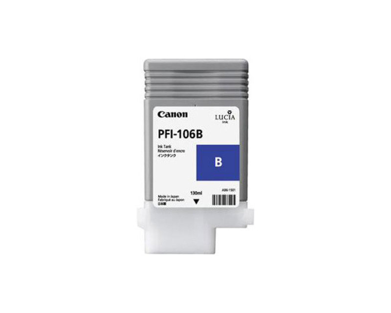 Canon PFI-106 Blue Ink Cartridge