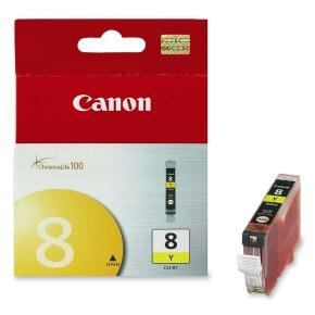 *Canon Cli-8 Yellow Ink Cartridge