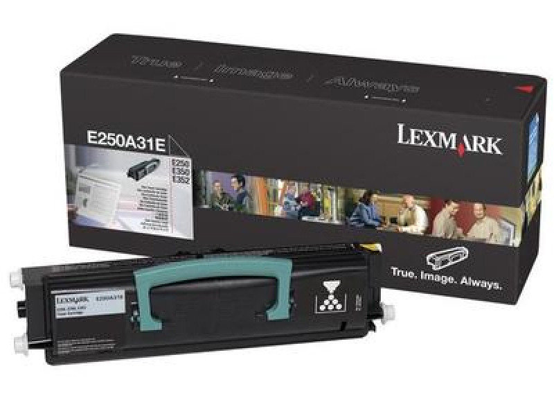 Lexmark E250 E35X Black Toner Cartridge