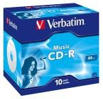 Verbatim Cd-r 700mb 16.80 Min 10 Pack.