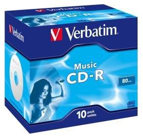 Verbatim Cd-r 700mb 16.80 Min 10 Pack.