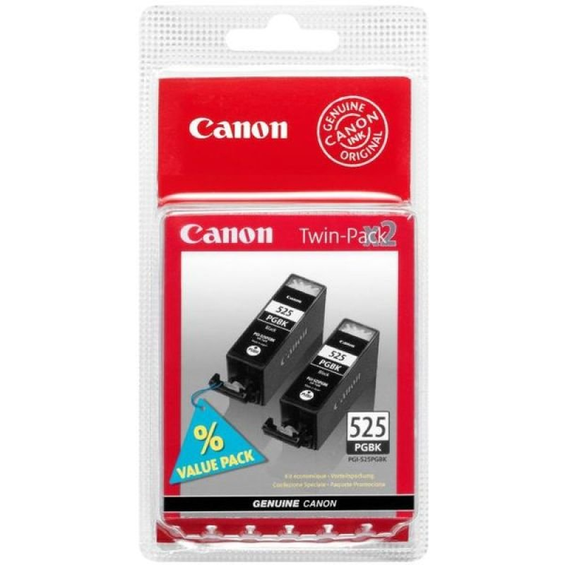 Canon PGI-525 Twin Pack Black Ink Cartridges
