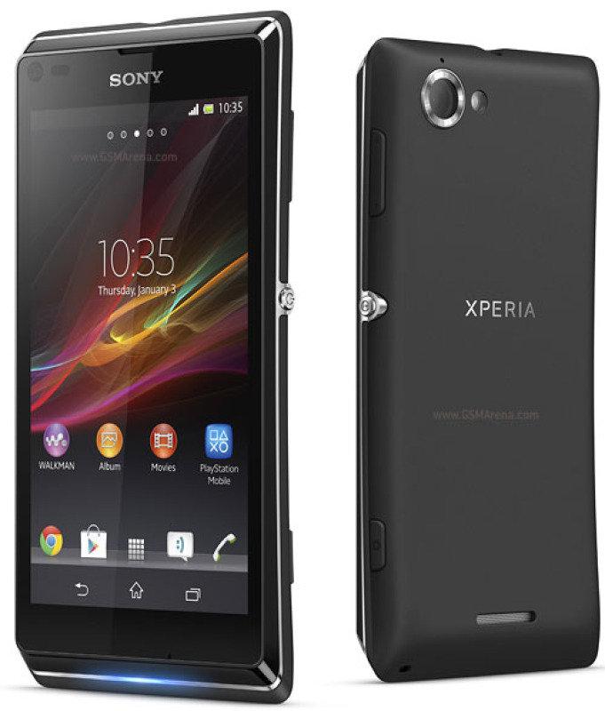 Sony Xperia L (Black)