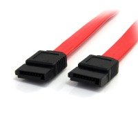 StarTech.com 18in SATA Serial ATA Cable - 18in SATA Cable - 18 SATA Cable - 18in Serial ata Cable