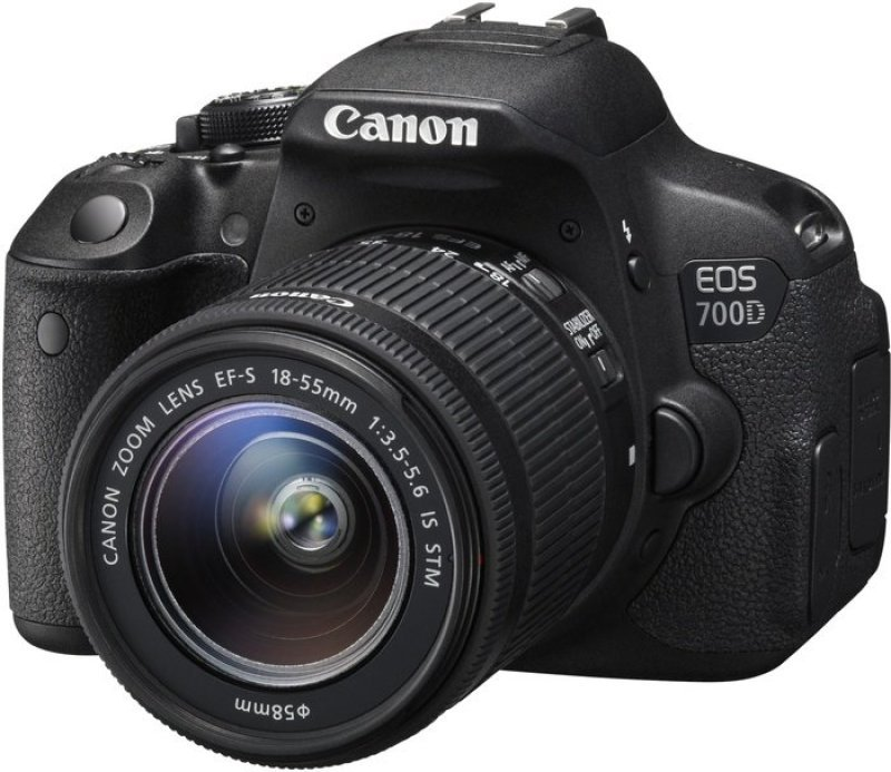 Image of Canon EOS 700D Digital SLR With 18-55MM Lens