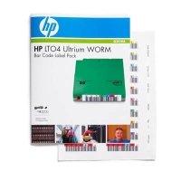 HP LTO-4 Ultrium WORM Bar Code Label Pack - 100 Pack