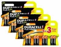Duracell Plus Power MN1500 Alkaline AA Batteries - 32 Pack