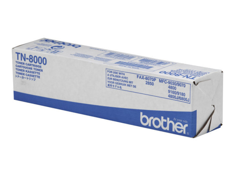 Brother TN8000 Black Toner Cartridge 2200 Pages