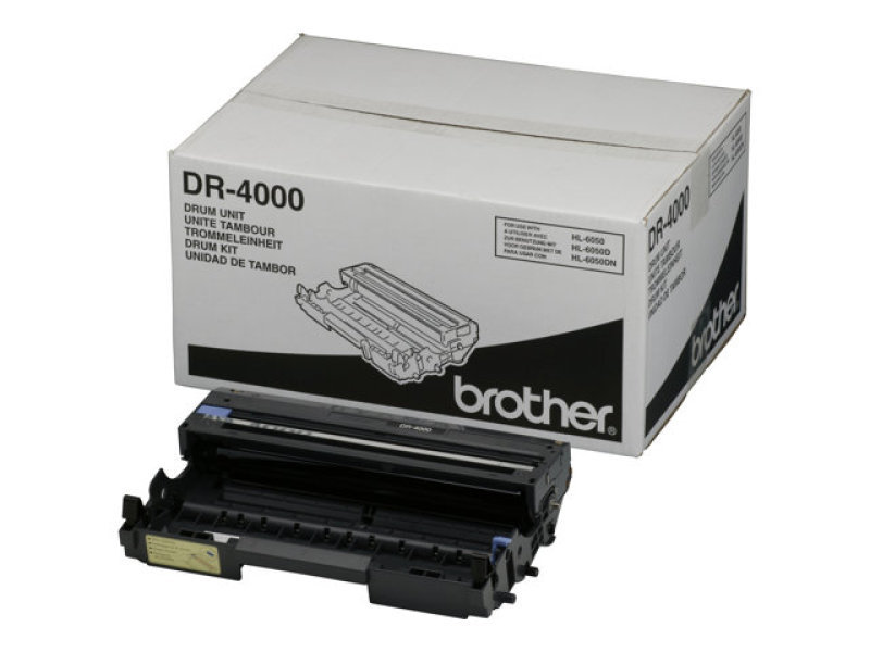 Brother DR4000 - Drum Unit - 40k Pages