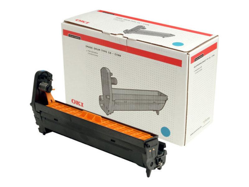 Image of Oki Cyan Printer Drum C5100/5200/5300/5400