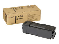 Kyocera TK-65 Black Laser Toner Cartridge - 20,000 Pages