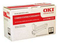 Oki C5800/C5900 Black Image Drum