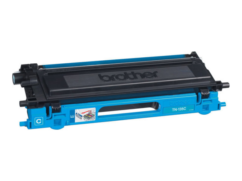 Brother TN135C Cyan Toner Cartridge 4000 Pages