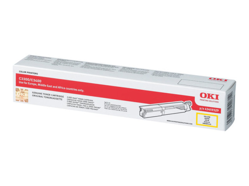 *OKI 43459329 Yellow Toner cartridge