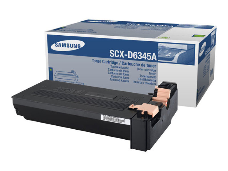 Samsung SCX-D6345A Black Toner Cartridge - 20,000 Pages