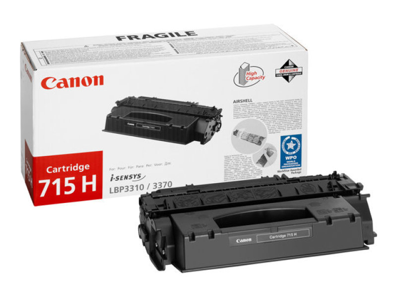 Canon 715H Black High Capacity Toner Cartridge