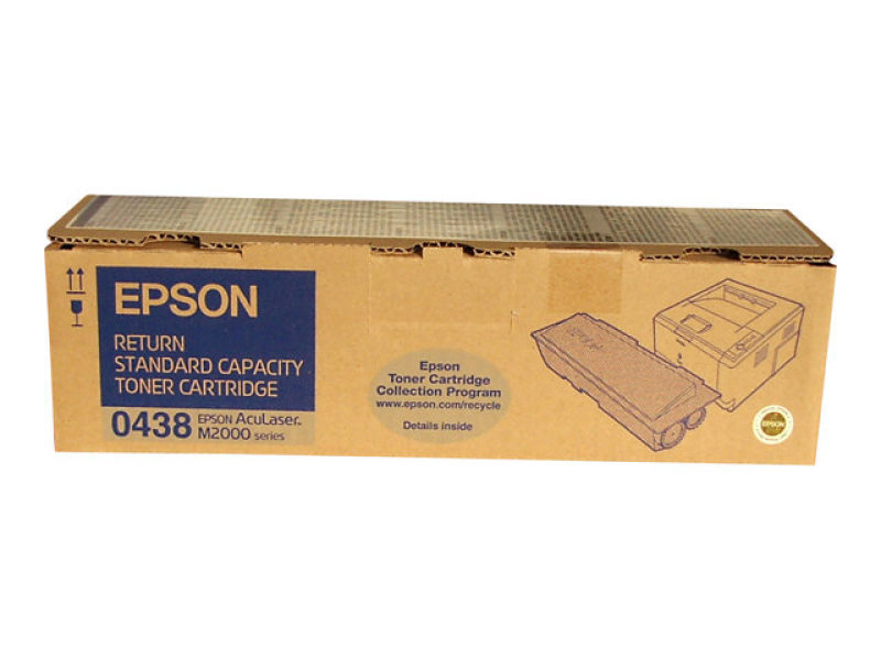 Epson - Toner cartridge - 1 x black - 3500 pages - Epson Return Program