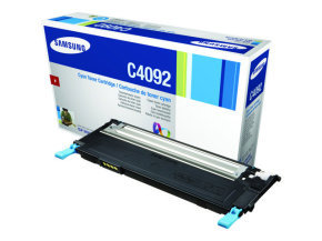 Samsung CLT-C4092S Cyan Toner Cartridge - 1,000 Pages
