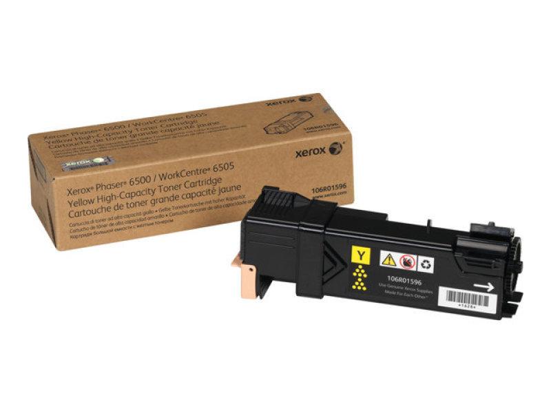 Xerox 106R01596 High Yield Yellow Toner Cartridge