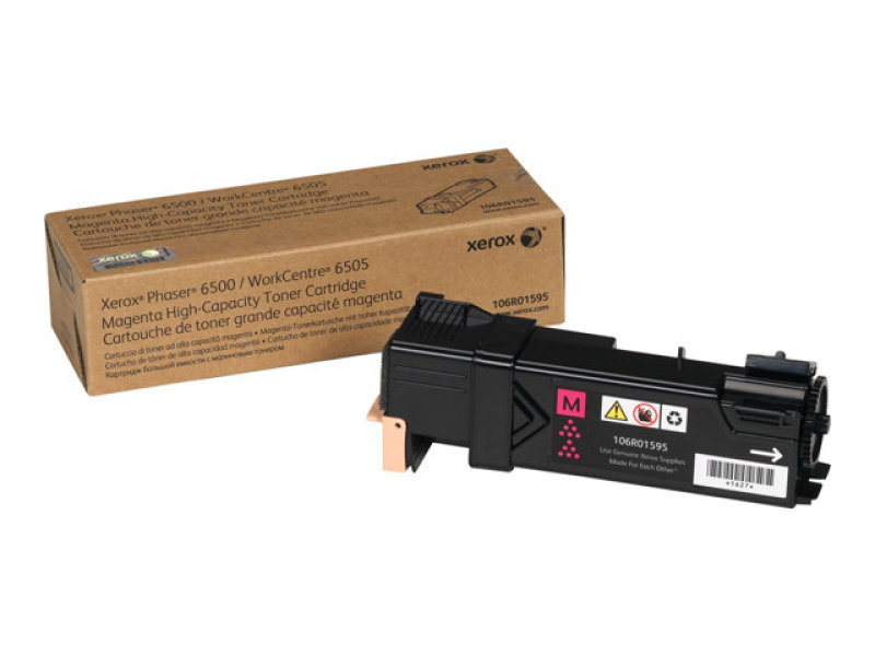 Xerox 106R01595 high Cap Magenta Toner Cartridge