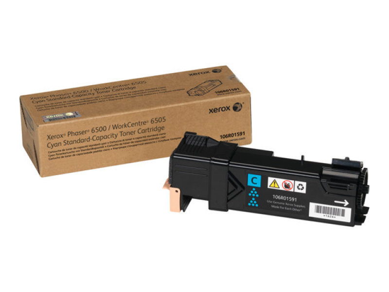 *Xerox Cyan Toner cartridge - 1000 pages