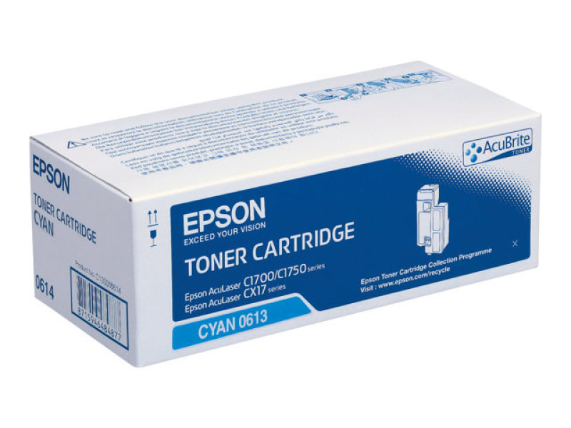 Epson AL-C1700 Cyan High Capacity Toner Cartridge