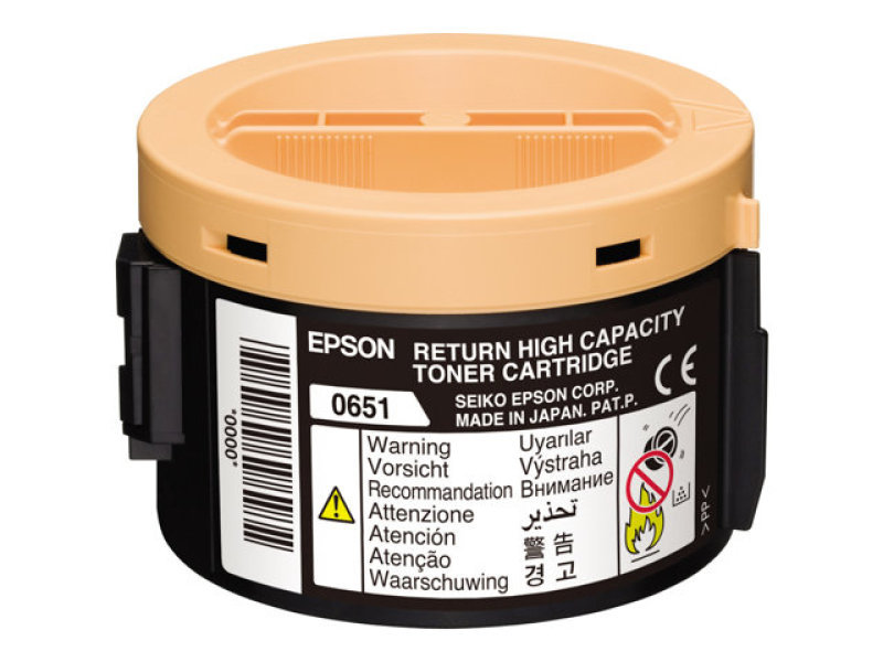 Epson High Capacity Black Return Toner Cartridge