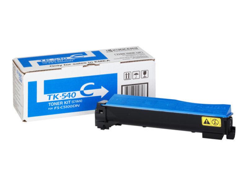 *Kyocera TK 540C Cyan Toner Cartridge
