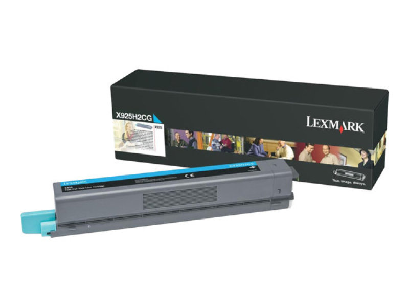 Lexmark X925 High Yield Cyan Toner Cartridge