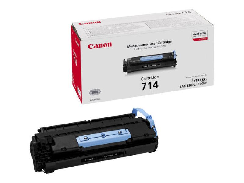 Canon 714 Black Toner Cartridge