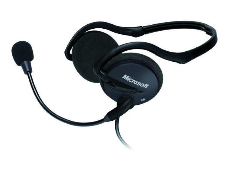 Microsoft Lifechat Lx2000 Foldable Stereo Headset