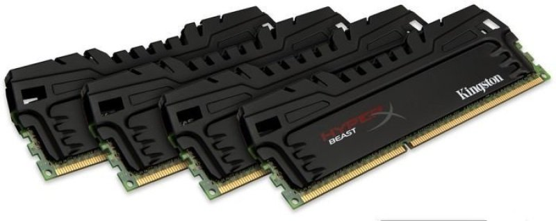 Image of 32GB 1866MHz DDR3 CL10 DIMM (Kit of 4) XMP Beast Series