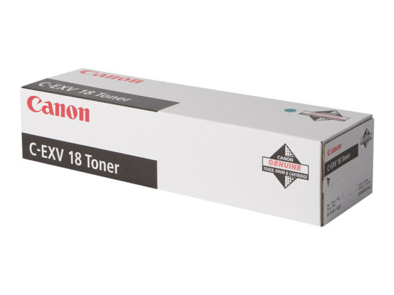 Canon C-EXV18 Black Toner Cartridge