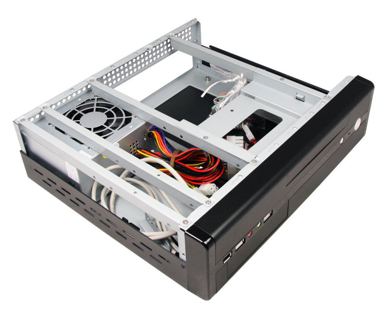 CIT MTX-005B Black Mini ITX Desktop Case 300W PSU