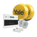 Yale Easy Fit Wireless Telecommunicating Home Alarm Kit